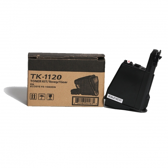 Black Kyocera Toner kit TK-1120 For Use In ECOSYS FS-1060DN